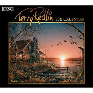 Lang 2021 Calendar TERRY REDLIN Calender Fits Wall Hanging Frame