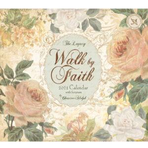 Legacy 2021 Calendar WALK BY FAITH Calender Fits Lang Wall Frame