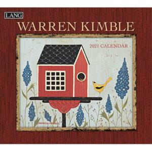 Lang 2021 Calendar WARREN KIMBLE Calender Fits Wall Hanging Frame