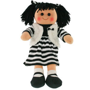 Hopscotch Lovely Soft Rag Doll ZARA Girl Dressed Doll Large 35cm