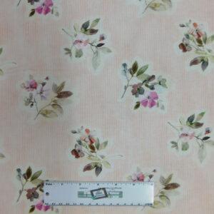 Quilting Patchwork Fabric JASMINES GARDEN 3 50x55cm FQ Material