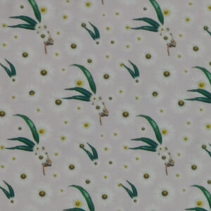Quilting Patchwork Fabric AUSSIE BUSH FLORAL GUM LEAVES 50x55cm FQ