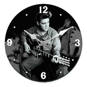 Clock French Country Wall Clocks 17cm ELVIS US ARMY Small