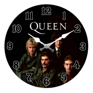 Clock French Country Wall Clocks 17cm QUEEN Bohemian Rhapsody Small