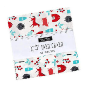 Quilting Charm Pack Patchwork MODA FARM CHARM 5 Inch Sewing Fabrics