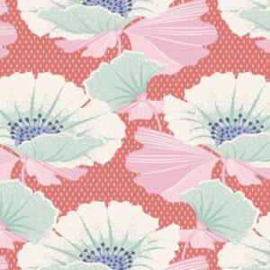 Quilting Sewing Fabric TILDA Maple Farm Gwendelyn Rosehip 50x55cm FQ
