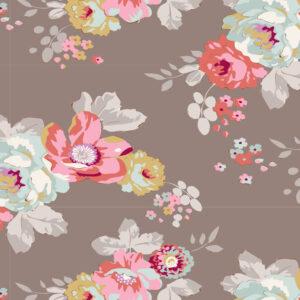 Quilting Sewing Fabric TILDA Maple Farm Pauline Umber 50x55cm FQ