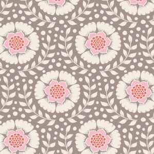 Quilting Sewing Fabric TILDA Maple Farm Wheatflower Umber 50x55cm FQ