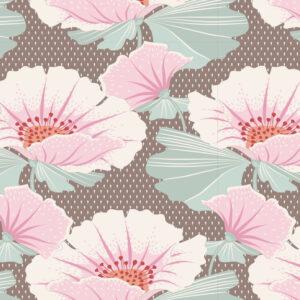 Quilting Sewing Fabric TILDA Maple Farm Gwendelyn Umber 50x55cm FQ