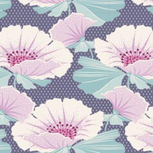 Quilting Sewing Fabric TILDA Maple Farm Gwendelyn Blueberry 50x55cm FQ
