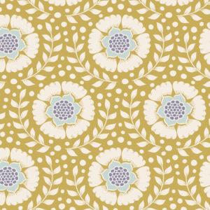 Quilting Sewing Fabric TILDA Maple Farm Wheatflower Dijon 50x55cm FQ