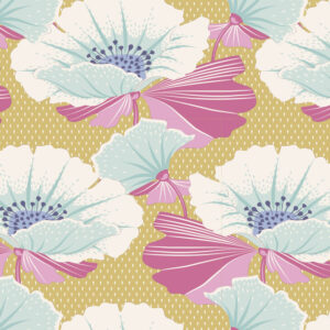 Quilting Sewing Fabric TILDA Maple Farm Gwendelyn Dijon 50x55cm FQ