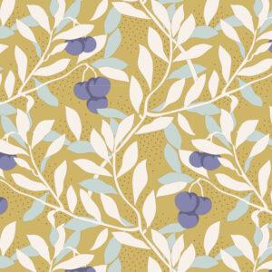 Quilting Sewing Fabric TILDA Maple Farm Cherrybush Dijon 50x55cm FQ