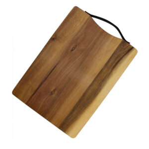 Country Kitchen Acacia Wooden Chopping Serving Board with Handle