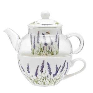 Ashdene French Country Kitchen Tea For One LAVENDER FIELDS Teapot