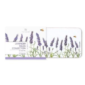 Ashdene Dining Kitchen Lavender Fields Cork Backed Placemats Set 4
