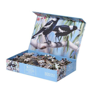 Australian Wildlife Fauna Magpie Jigsaw Puzzle Ashdene
