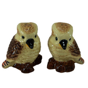French Country Novelty Kitchen Dining KOOKABURRAS Salt and Pepper Set