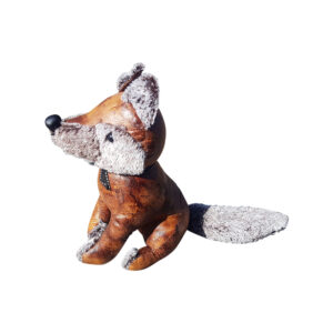 French Country Vintage Weighted FLYNN FOX Door Stopper