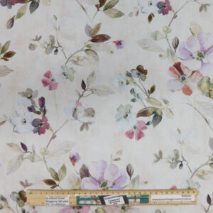Patchwork Quilting Sewing Fabric JASMINS FLORAL 50x55cm FQ New