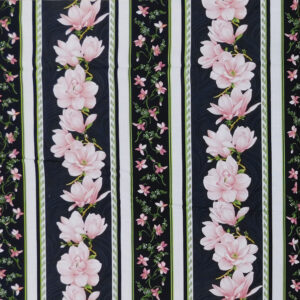Patchwork Quilting Sewing Fabric MAGNOLIAS BORDER Print 50x110cm 1/2meter Cut