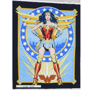 Patchwork Quilting Sewing Fabric WONDER WOMAN Panel 88x110cm