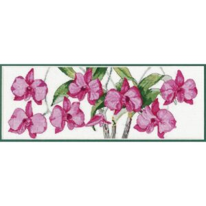 DMC Counted Cross Stitch Kit COOKTOWN ORCHID Inc Thread