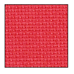 Cross Stitch RED Aida Cloth 14ct Size 55x30cm X Stitch Fabric