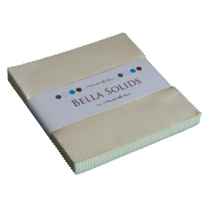 Moda Quilting Sewing Fabric Charm Pack Bella Natural 5 Inch Squares