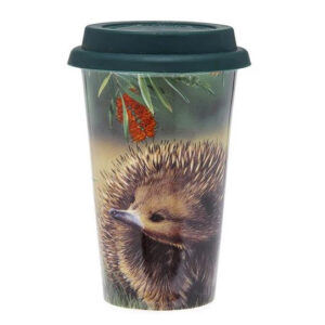 Ashdene Travel Tea Coffee Mug Cup Australian Fauna Echidna