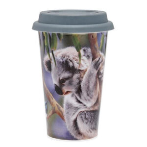 Ashdene Travel Tea Coffee Mug Cup Australian Fauna Koala