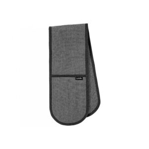 Ladelle Eco Recycled Charcoal Double Oven Mitts Set