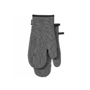 Ladelle Eco Recycled Charcoal Oven Gloves Set of 2 for Hot Oven