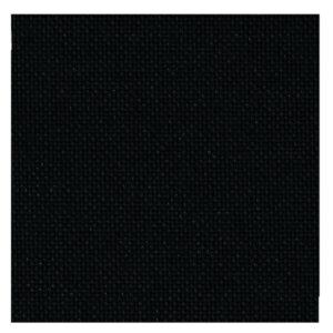 Cross Stitch 25 Evenweave ZWEIGART LUGANA BLACK 50x70cm