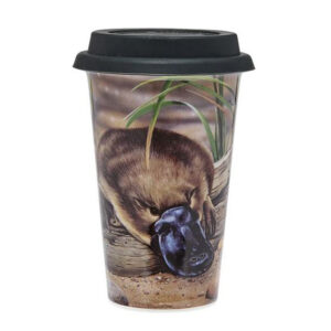 Ashdene Travel Tea Coffee Mug Cup Australian Fauna Platypus