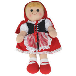 Hopscotch Lovely Soft Rag Doll RED RIDING HOOD Doll Large 35cm