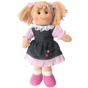 Lovely Soft Rag Doll SOPHIE Dressed Girl Doll Medium 25cm