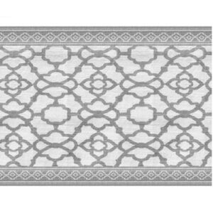 French Country Rans Table Runner VINTAGE GREY 33x150cm