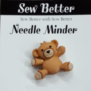 Sew Better Cross Stitch Needle Minder FAWN TEDDY BEAR Keeper