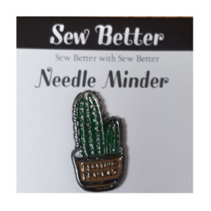 Sew Better Cross Stitch Needle Minder FEELING PRICKLY Keeper