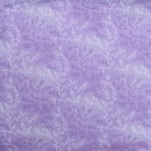 Quilting Patchwork Sewing Fabric LAVENDER VINE Wide Backing 270x50cm