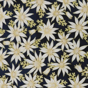 Quilting Sewing Fabric AUSTRALIAN FLANNEL FLOWERS Material 50x55cm FQ