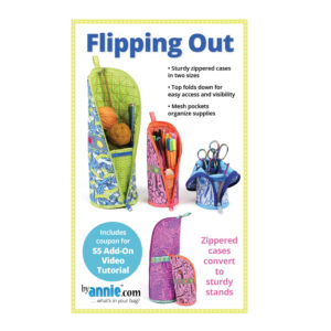 Quilting Sewing Patchwork By Annie FLIPPING OUT Pattern Only