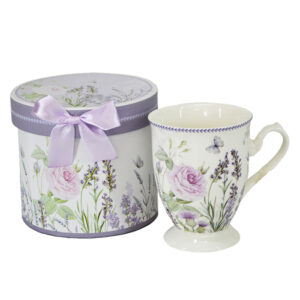 Kitchen Tea Coffee Mug LAVENDER Cup 1 only Gift Boxed