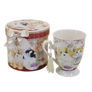 Kitchen Tea Coffee Mug CATS and DOGS Cup 1 only Gift Boxed