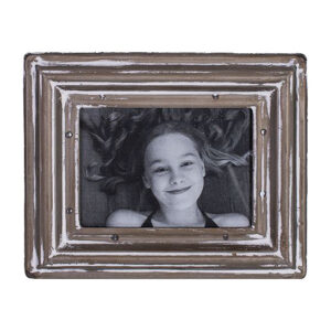 French Country Metal Photo Frame Rustic 6x4 Inch