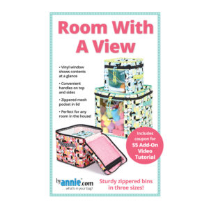 Quilting Sewing Patchwork By Annie ROOM WITH A VIEW Pattern Only
