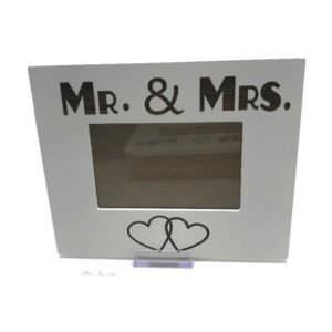 French Country Farmhouse MR AND MRS 6x4inch Photo Frame