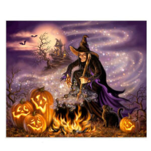 5D Diamond Painting Full Image Square Drills WITCHES 40X30cm