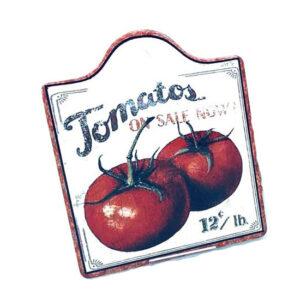 Country Farmhouse Resin Trivet Tomatoes Hot Pot Holder
